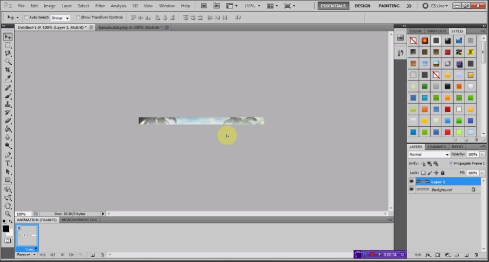 Photoshop'da Hareketli Userbar Yapımı (Videolu Anlatım)