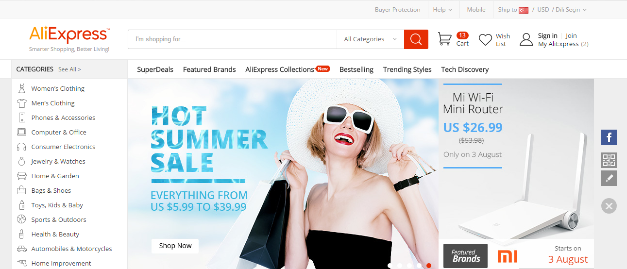 AliExpress Alışverişlerinizde Gönderi Takibi Nasıl Yapılır?