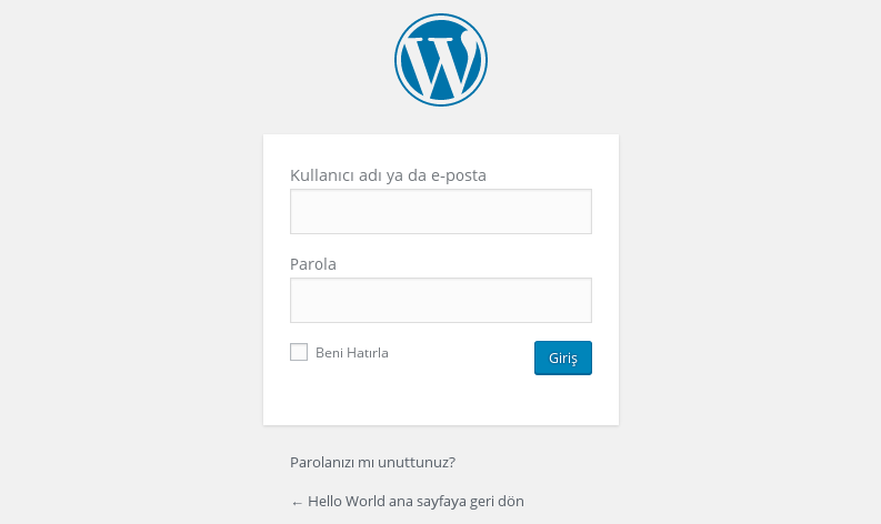 WordPress Admin Paneline Girememe Sorunu Çözümü